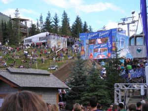 Kokanee Crankworx in Whistler Village (2007)