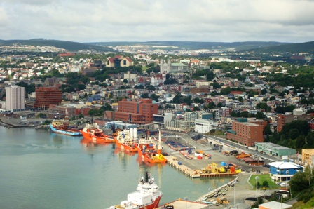 A view of St. John's from Signal Hill