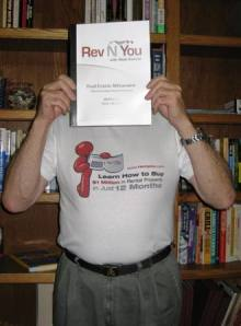 I guess we could call this the shy Rev N You T-Shirt Model!